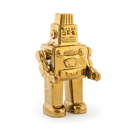 Robot dorato Seletti
